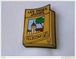Pin´s - FRANCE TELECOM - LES PAGES JAUNES - - France Telecom