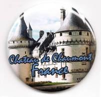 Magnet - Chateau De Chaumont France - [41 - Chaumont-sur-Loire] - Magnets