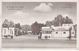 LAS  VEGAS, NEVADA  ROADSIDE  AMERICANA  AUTO  REST  1930's - Las Vegas