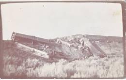 TRAIN  WREAK  LOS  ANGELES  LIMITED To UTAH REAL  PHOTO  1930'S - Los Angeles