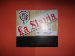 Fascicule De 24 Pages LA SLAVIA Bière Des Gourmets - Brasserie De La Comète Châlons-sur-Marne - Food