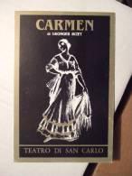 Carmen Di Georges Bizet Carte Postale - Publicidad