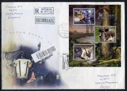 MA BELARUS 2006 FAUNA BATS (2 Covers) - Fledermäuse