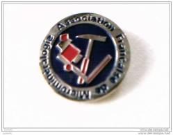 Pin�s - ASSOCIATIONS - Association Fran�aise de Micromin�ralogie -