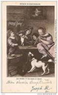 MUSICIENS POUR LA LECON DE DANSE POUR CHAT PAR JAN STEEN (CHOCOLAT VIVINAY) REF 10990 - Musik Und Musikanten
