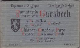 Gaesbeek - Carnet Complet Château-Musée Et Parc - Lennik
