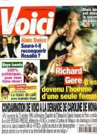 Voici 485 Richard Gere Stéphanie Travolta Hallyday Camilla Alain Delon - Gente