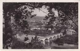 CPA  PHOTO 43 - RETOURNAC - Paysage Sur Le Pont De La Ville - Retournac
