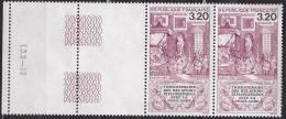 N° 2393 Tricentenaire Des Relations Diplomatiques Avec La Thaïlande: Emissaire Du Roi De Siam: Une Paire De 2 Timbres - France
