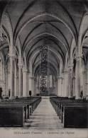85 - SOULLANS (Vendée) - Intérieur De L'Eglise - édit Gautier, épicier, Soullans. - (voir Scan). - Soullans