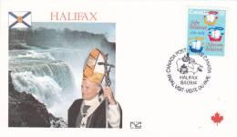 Pope John Paul II - Visit: 1984 Canada Halifax (B445) - Pausen