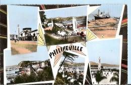 Algeria Postcard - Views Of Phillippeville    PM1777 - Algeria
