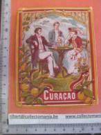 1 étiquette  XIX Ième  Litho  Artistique - CURACAO Curaçao  - Iprimeur G. Nissou (coin Bas Droit Petit Manque De Papier - Drink