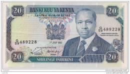 20 SHILINGI 1990 - N° G/59 489228 - Kenya - (Superbe, Non Circulé)- - Kenya