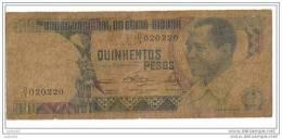 500 Pesos - 28-2-1983 - N° D/1 020220 - Guinea-Bissau - - Guinea-Bissau