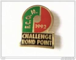 Pin´s -  CHALLENGE ROND POINT - F.C.O.N. / 1992 - - Pin's