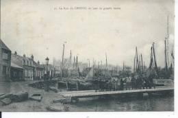 Le Port Du CROTOY Un Jour De Grande Marée - Le Crotoy