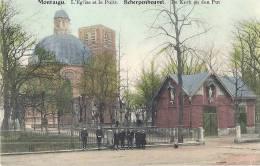 SCHERPENHEUVEL - De Kerk En Den Put - L'église Et Les Puits - Scherpenheuvel-Zichem