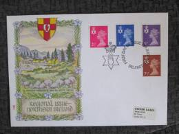 NORTHERN ISLAND DEFINITIVE ISSUES JULY 1971 FDC - Northern Ireland