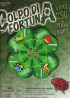 """LOCANDINA LOTTERIA  """"COLPO DI FORTUNA"""" - Lottery Tickets"""