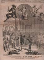 LE JOURNAL ILLUSTRE 12 01 1879 - MADAME FAVART OFFENBACH CHIVOT DURU - POLYTECHNIQUE - GARROT ESPAGNE - OUVRIERS ABRIS - Zeitungen
