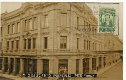 Medellin Real Photo Z 161 Edificio Moreno Estampilla 1928 No Ha Circulado Foto Felix Obando - Colombie
