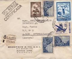 Air Mail Registered Certificada Letter BUENOS AIRES To AUSTRIA 1979 (862) - Argentinien