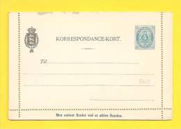 ENTIERS POSTAUX DANEMARK - Interi Postali