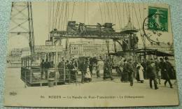 Rouen - La Nacelle Du Pont Transbordeur - Le Debarquement - Rouen