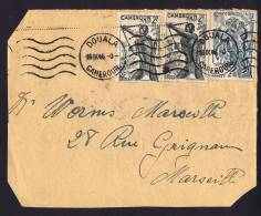 1946 Devant De  Lettre   Pour La France  Chasseurs 2 Fr Yv 283, Cavaliers 10 Fr Yv 291 - Cameroun (1915-1959)
