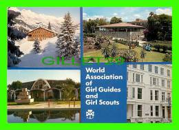 SCOUTS - GUIDES - WORLD ASSOCIATION OF GIRL GUIDES & GIRL SCOUTS - 4 MULTIVIEWS - - Scoutisme