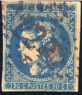 Emission De Bordeaux. 1870 - 1871. Lot N°011- 34 B - 1870 Bordeaux Printing