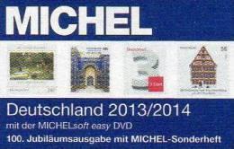 MICHEL Germany Stamps Catalogue+DVD Easy 2013 New 46€ D Baden Bayern Hamburg DR III.Reich Danzig Saar SBZ DDR Berlin BRD - Allemand