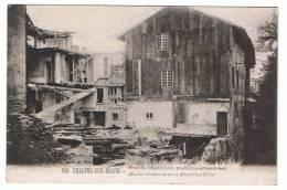 51- Chalons Sur Marne- Rue De Chastillon ,maisons Effondrées - Châlons-sur-Marne