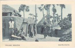 Sénégal - Triple Carte : Port De Dakar(train)Village Indigène (animation) - Cartes Postales