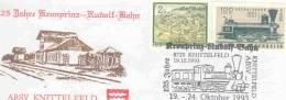 Rep. Osterreich - 125 Jahre Kronprinz Rudolf Bahn - Knittelfeld 19/10/1993 (RM1181) - Trains
