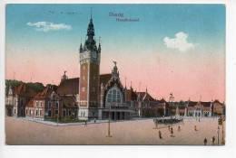REF 117 : CPA Allemagne Danzig Haumtbahnof - Danzig