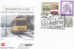 Rep. Osterreich  - Adventfahrten Zu Den Stille Nacht Gedenkstätten - Oberndorf 5/12/4998  (RM1264) - Treinen
