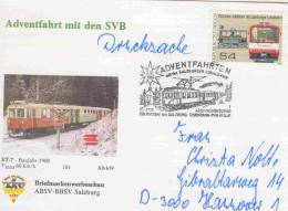 Rep. Osterreich -  Adventfahrt Mit Den SVB - Oberndorf  3/12/1989 (RM1276) - Trains