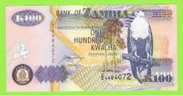 ZAMBIA -  100  Kwacha  1992 SC  P-38 - Zambia