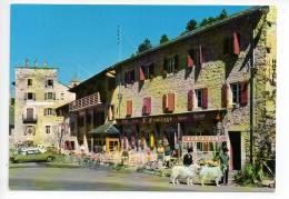REF 118 : CPSM 66 FONT ROMEU Hotel De L'ermitage Citroen DS - Francia