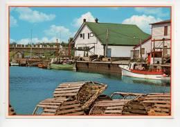 REF 119 : CPSM GASPESIE Anse à Beaufils Un Port De Pêche Typique - Gaspé