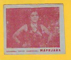 Postcard -  Card, European Champion, Marijana      (V 17656) - Lutte