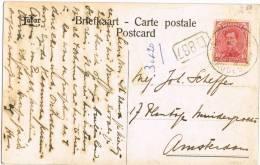 3355. Postal BRUGGE (Belgica) 1919 A Holanda - Bélgica