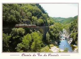Tournon   Lamastre, Train Autorail Dans Les Gorges Du Doux - Tournon