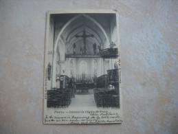 CPA FLEURUS Intérieur De L'église St Victor - Fleurus
