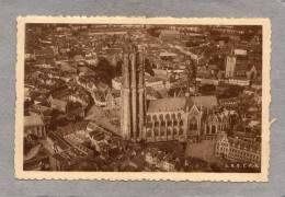 39200    Belgio,     Malines -   Cathedrale  Saint  Rombaut(vue  Prise  En  Avion),  NV - Mechelen