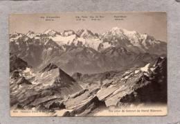 39203    Svizzera,  Vue  Prise  Du  Sommet  Du  Grand  Muveran,  VGSB  1917 - VD Vaud