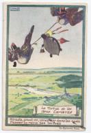 CPSM Illustrateur Maggie Salzedo Publicité Ricqlès Tortue Et 2 Canards édit Eo Bernard Non écrite - Andere Zeichner