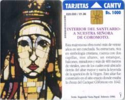 Telefonkarte Venezuela - Coromoto - Kirche - Venezuela